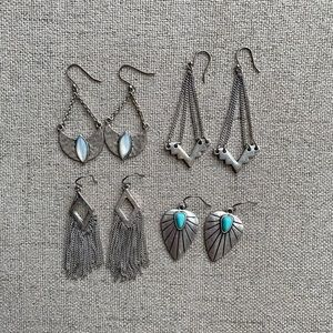 Lucky Brand earring bundle